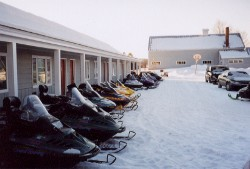 snowmobile lodging